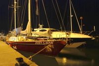 John Laing in Poole Harbour