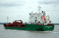 Clipper Marianne  IMO 9294680 4473gt Built 2005 Chemical Tanker Flag Denmark