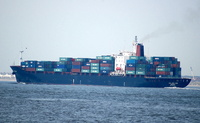 CMA CGM Elbe   IMO 9001045 37134gt Built 1991 Container Ship Flag Greece