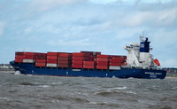 Independent Concept IMO 9306213 17000gt Built 2007 Container Ship Flag Liberia Peter Dohle Schiffahrts-KG