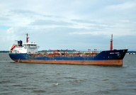 Mersey Fisher  IMO 9170420 2760gt Built 1998 Oil Products Tanker Flag Gibraltar