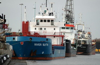 River Blyth   IMO 9211078 2858gt Built 2000 General Cargo Ship Flag Antigua Barbuda