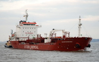 Sichem Edinburgh  IMO 9352066 8545gt Built 2007 Chemical/Oil Tanker Flag Singapore
