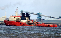 Clwyd Supporter  IMO 8325406 2762gt Built 1984 Offshore Tug/Supply Flag UK