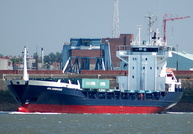 Ara Zeebrugge  IMO 9015981 3815gt Built 1991 General Cargo Ship Flag Cyprus