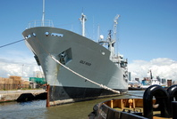 RFA Gold Rover arrives for NSL Bidston 5/7/08