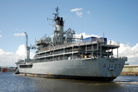 RFA Gold Rover at Birkenhead West Float