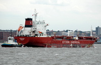 Sichem Manila IMO 9322097 8562gt Built 2007 Chemical/Oil Tanker Flag Singapore