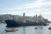 Nordland arriving at Fowey