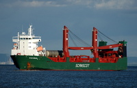 Scan Brasil IMO 9268710 Flag UK Built 2003 8831gt Ro Ro Cargo Ship