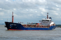 Humber Fisher IMO 9145023 2760gt Built 1998 Oil Products Tanker Flag UK