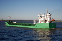 Arklow Freedom   IMO 9361756 2998gt Built 2008 General Cargo Ship Flag Ireland