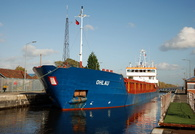 Ohlau at Latchford Locks