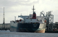 Ocean Lady  IMO 9237278 56204gt Built 2002 Crude Oil Tanker Flag UK at Tranmere