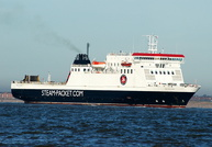 Ben My Chree  IMO 9170705 12504gt Built 1998 Passenger/Ro Ro Cargo Ship Flag UK