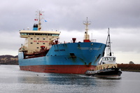 Nordby Maersk  IMO 9322712 12105gt Built 2007 Chemical/Oil Products Tanker Flag Denmark