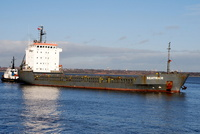 Beatrice  IMO 9053828 4927gt Built 1994 General Cargo Ship Flag Antigua Barbuda