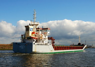 Nicole C IMO 9373541 3000gt Built 2007 General Cargo Ship Flag UK
