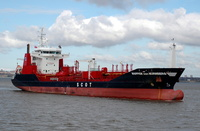 Wappen von Nurnberg  IMO 9365257 5200gt Built 2007 Chemical/Oil Products Tanker Flag UK