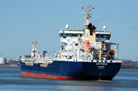 Astoria IMO9166314 7028gt Built 1999 Chemical/Oil Products Tanker Flag Sweden