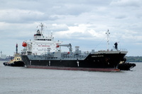Chembulk Houston  IMO 9285469 9230gt Built 2003 Chemical Tanker Flag Singapore