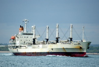 Mogami Reefer IMO 9184548 10471gt Built 1999 Refrigerated Cargo Ship Flag Panama