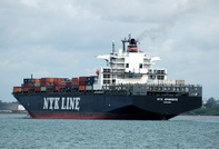NYK Aphrodite IMO 9247754 75484gt Built 2003 Container Ship Flag Panama