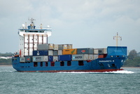 Margareta B IMO 9121883 3999gt Built 1998 Container Ship Flag Antigua Barbuda