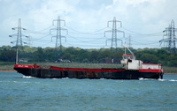 Split Two  Hopper Barge