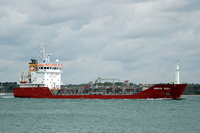Brovig Bora IMO 9316024 2627gt Built 2005 Chemical/Oil Products Tanker Flag Gibraltar