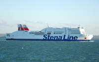 Stena Adventurer arriving Holyhead