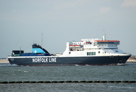 Dublin Viking IMO 9136022 21856gt Built 1997 Passenger/RoRo Cargo Ship Flag UK Norfolk Line