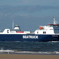 Clipper Pace  IMO 9350678 14759gt Built 2007 Seatruck Ferries