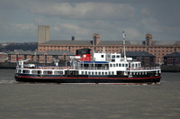 Snowdrop  IMO 8633724 670gt Built 1960 Mersey Ferry