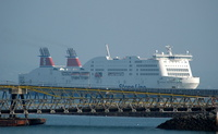 Stena Adventurer    IMO 9235529 at Holyhead