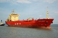 Cape Egmont IMO 9262819 8351gt Built 2003 Chemical/Oil Products Tanker Flag Marshall Isles