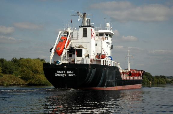 Stolt Kite at Penny Ferry Manchester Ship Canal