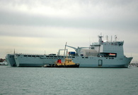 RFA Largs Bay L3006 IMO 9240756 23569gt Built 2005