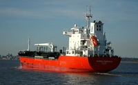 Marida Marigold IMO 9438157 8530gt Built 2009 Chemical/Oil Products Tanker Flag Mashall Isles