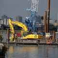 Work on bridge linking Media City and Trafford Wharf