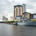 HMS Middleton at Salford Quays 18/5/08
