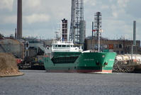 Arklow Star outbound from Runcorn