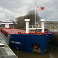 Fehn Moon on the Manchester Ship Canal at Latchford