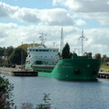 Arklow Rock departing Latchford Lock