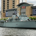HMS Ledbury M30 at Salford Quays Manchester IMO 4906587 Built 1981 17th May 2009
