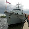 HMS Ledbury M30 at Salford Quays 17/5/09