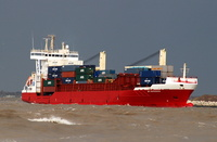 BF Esperanza  IMO 9252785 9990gt Built 2003 Container Ship Flag Antigua Barbuda