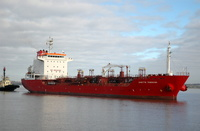 Anette Theresa IMO 9321639 8450gt Built 2006 Chemical Tanker Flag UK