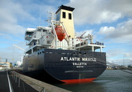 Atlantik Miracle IMO 9477490 7315gt Built 2008 Chemical/Oil Products Tanker Flag Malta Alfred Basin Birkenhead