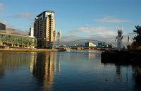 Salford Quays 6th December 2009